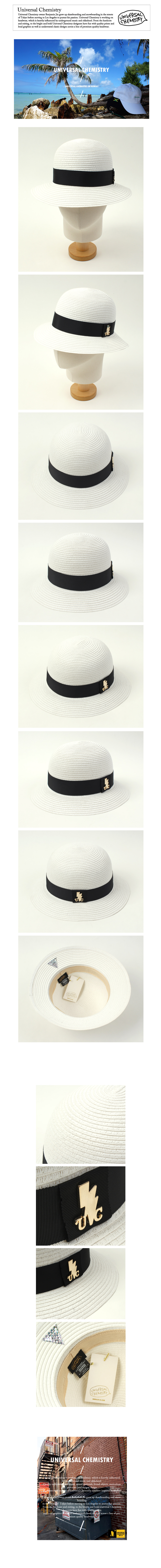 Summer White Cloche Hat 섬머클로슈햇