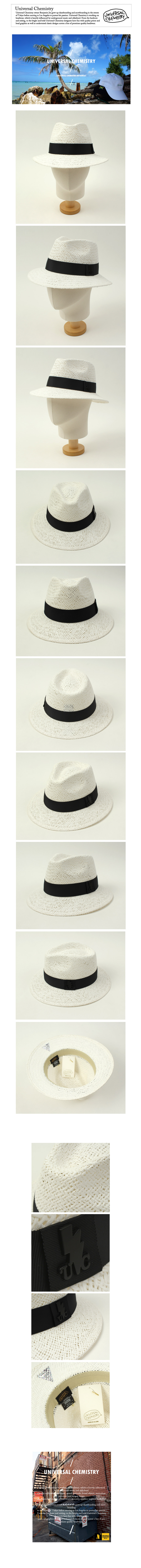 Swing White Short Fedora 여름페도라